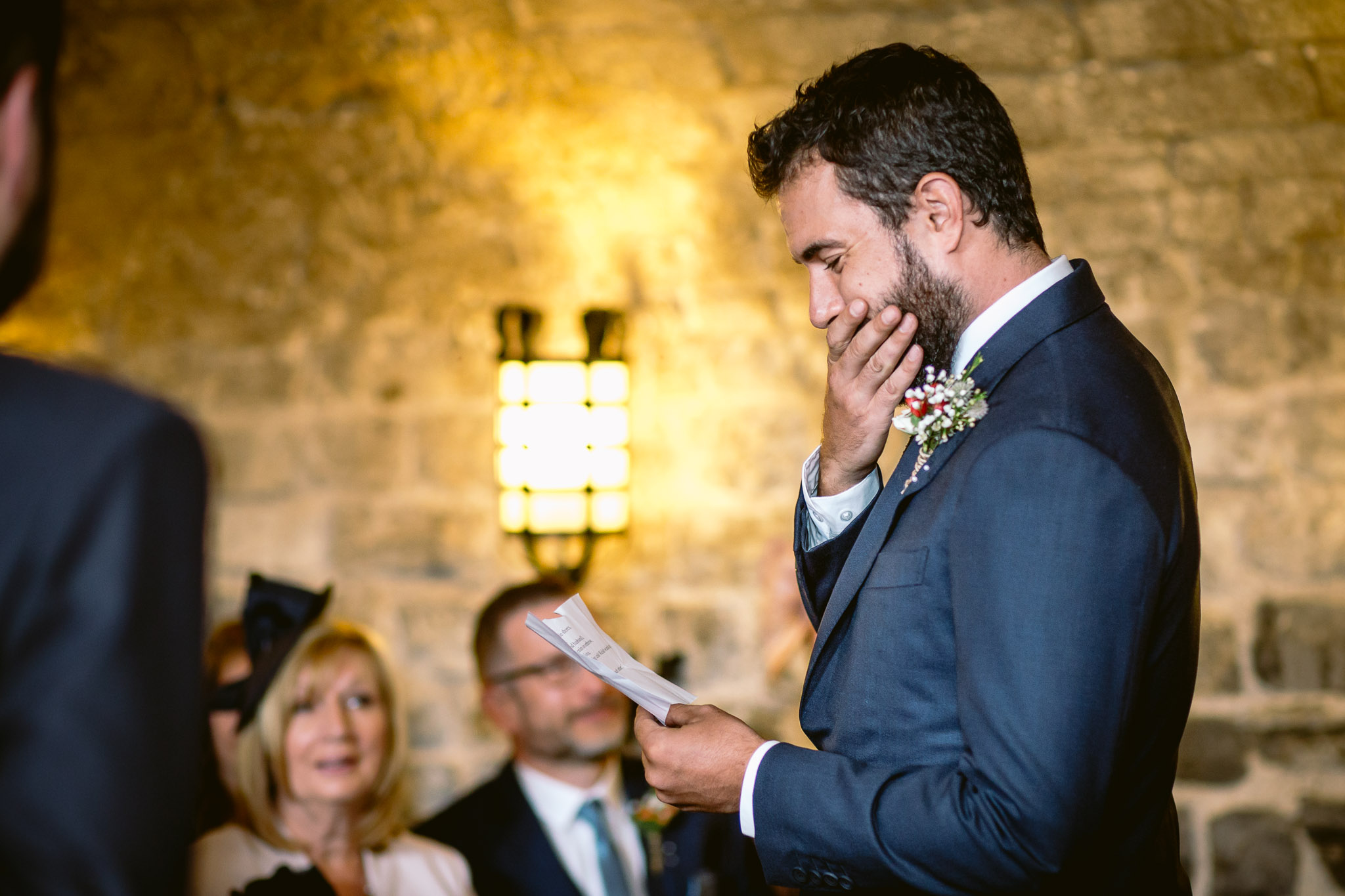 best man speech crying cardiff castle best of 2017