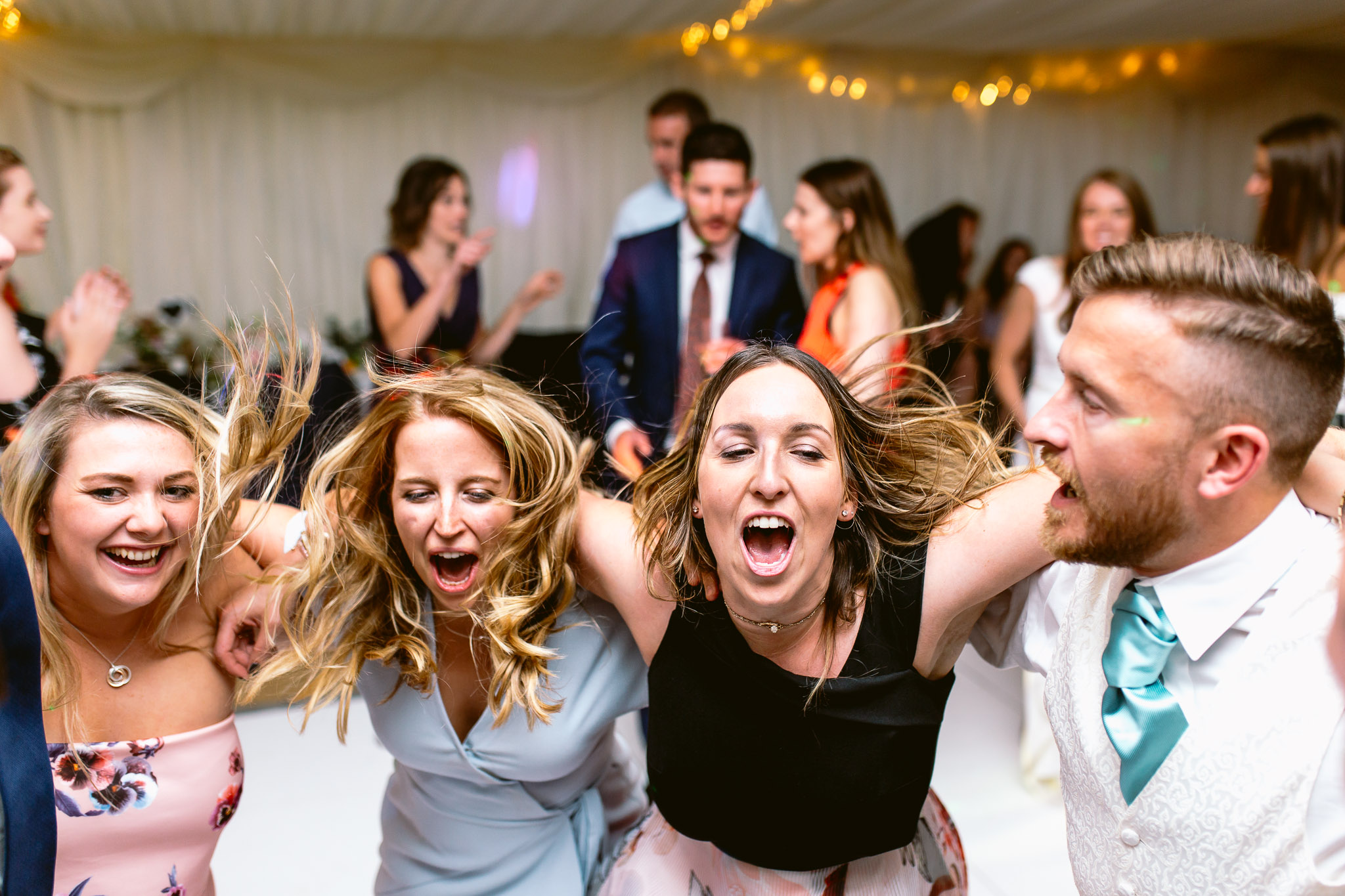 guests at wedding dancing best of 2017