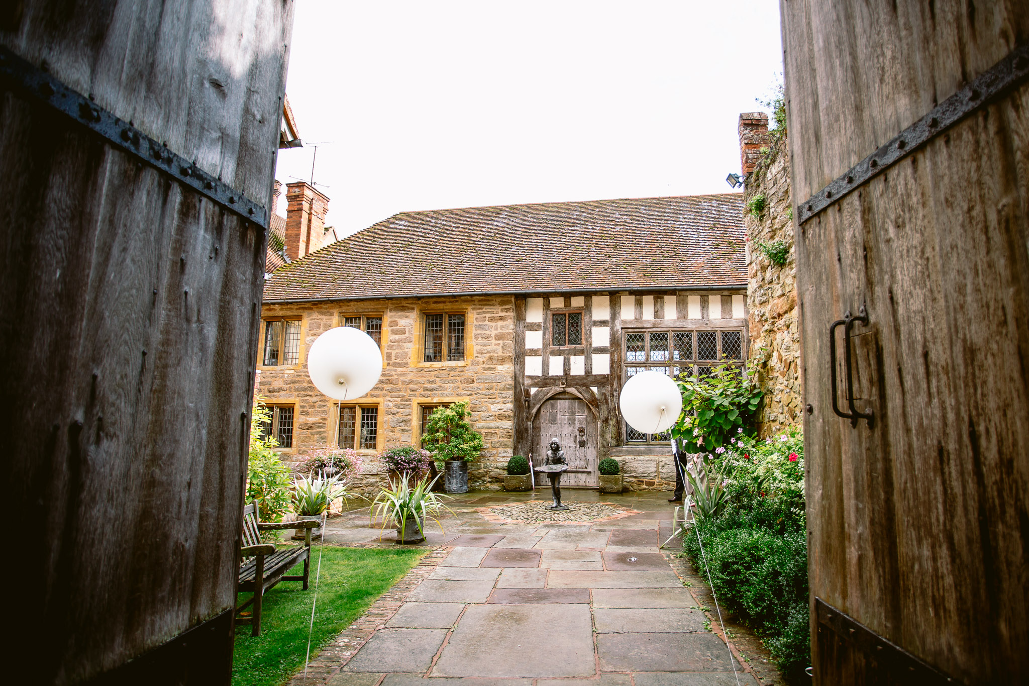 birtsmorton court wedding venue piazza view