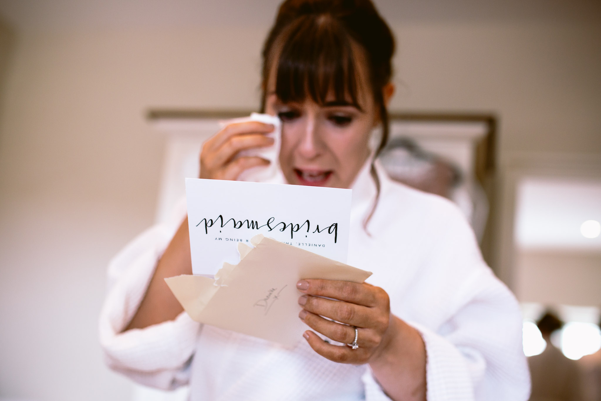 bridesmaids crying when receiving a gift from a bride best of 2017